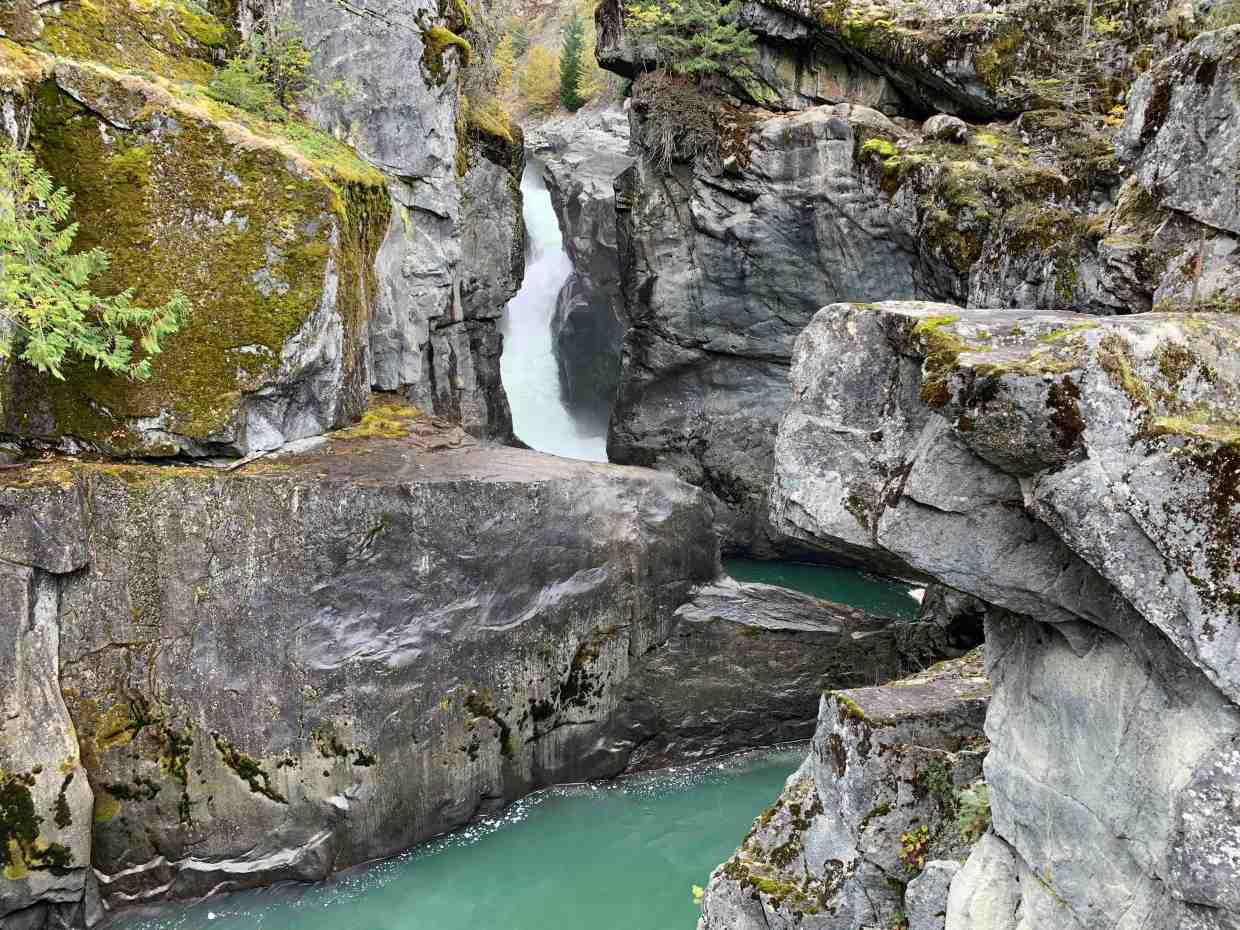 Best waterfalls in BC, spectacular Nairn Falls, north of Whistler on the Sea-to-Sky Highway. Photo Credit: Wendy Nordvik-Carr©