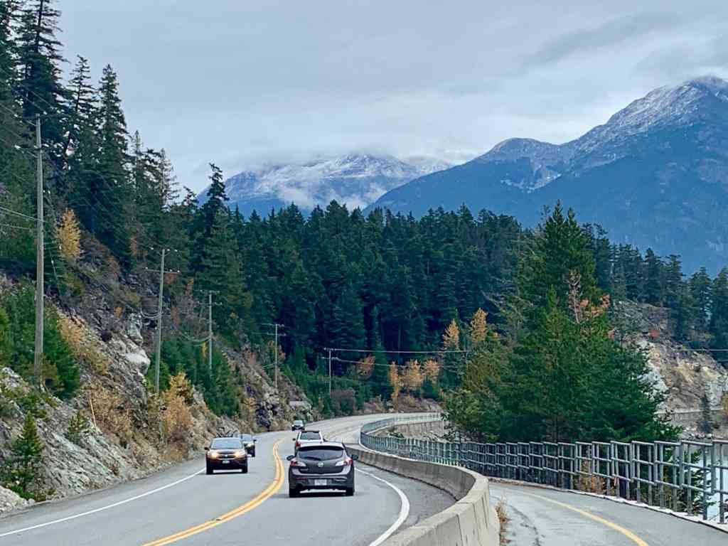 Drive the spectacular Sea-to-Sky Highway one of the most scenic roads in North America: Photo Credit: Wendy Nordvik-Carr©