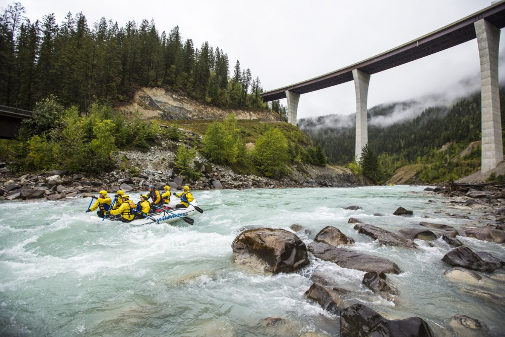 Top things to do in BC Rafting in Yoho National Park Golden Photo Credit: Destination BC, Ryan Creary