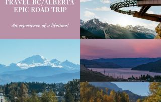 Travel BC Guide: Best BC road trip from Vancouver - Top things to do Banff Lake Louise Jasper Columbia Icefields Mike Seehagel : Pursuit Banff Jasper Collection Sky Bridge