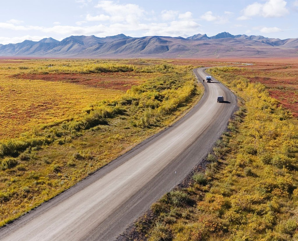Tombstone Territorial Park, Dempster Highway is one of the top scenic Yukon road trips. Photo Credit: Yukon Government/F Mueller