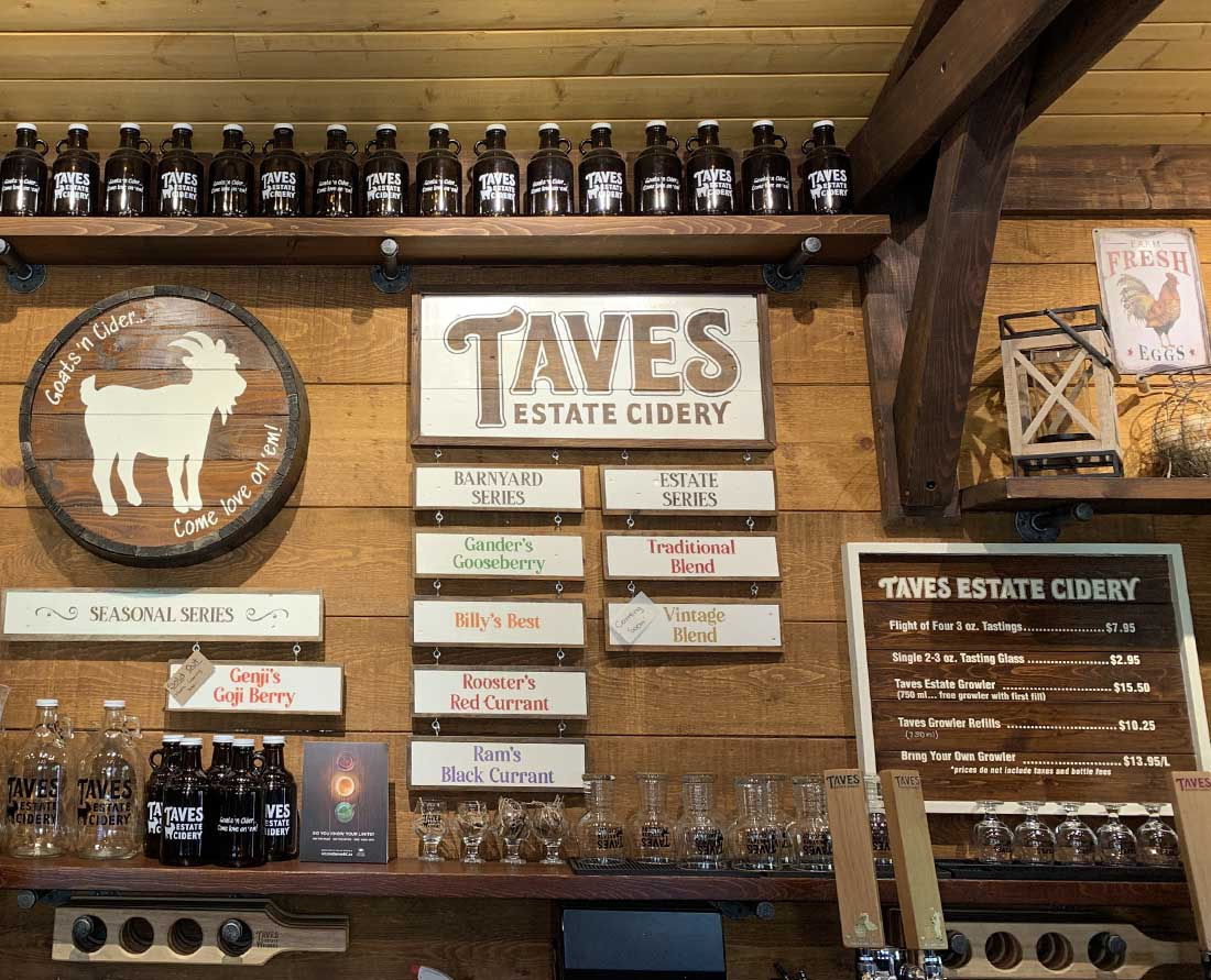 Taves Estate Cidery in Abbotsford Photo: Wendy Nordvik-Carr