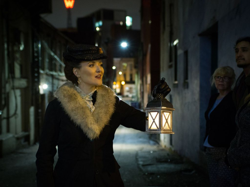 The Lost Souls walking tour is one of Vancouver's best Halloween events