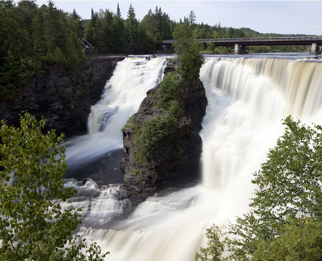 Kakabeka Falls is the second highest in Ontario and can be found on one of the most scenic routes in Canada.