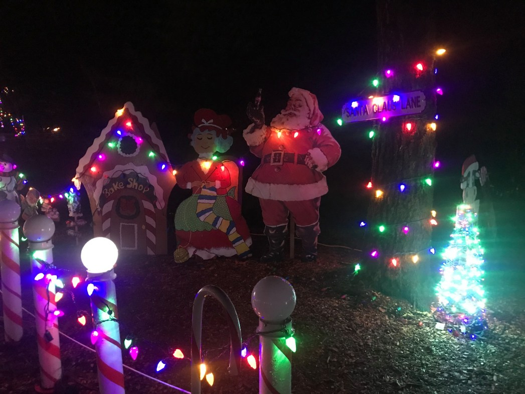 Christmas in Williams Park is a great Best Vancouver Drive-thru Christmas lights event.