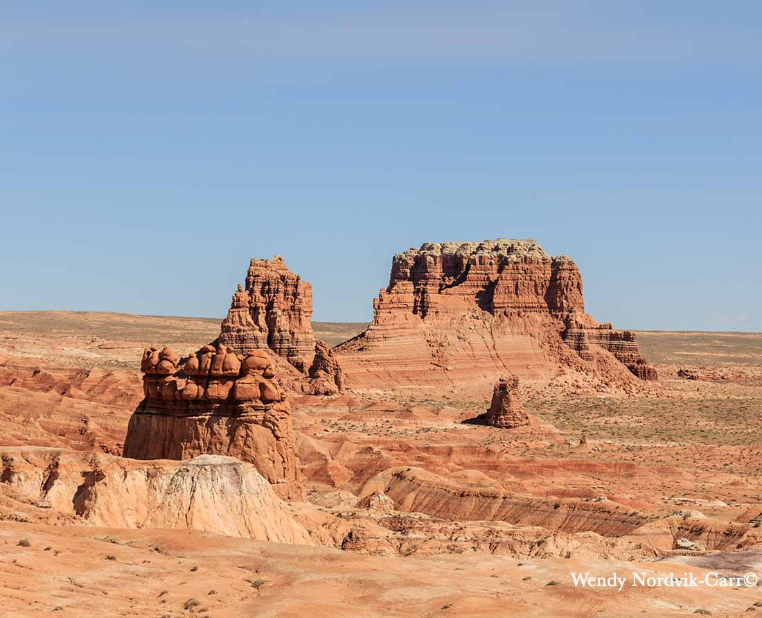 Mollys Castle in Goblin Valley State Park. Photo: Wendy Nordvik-Carr©
