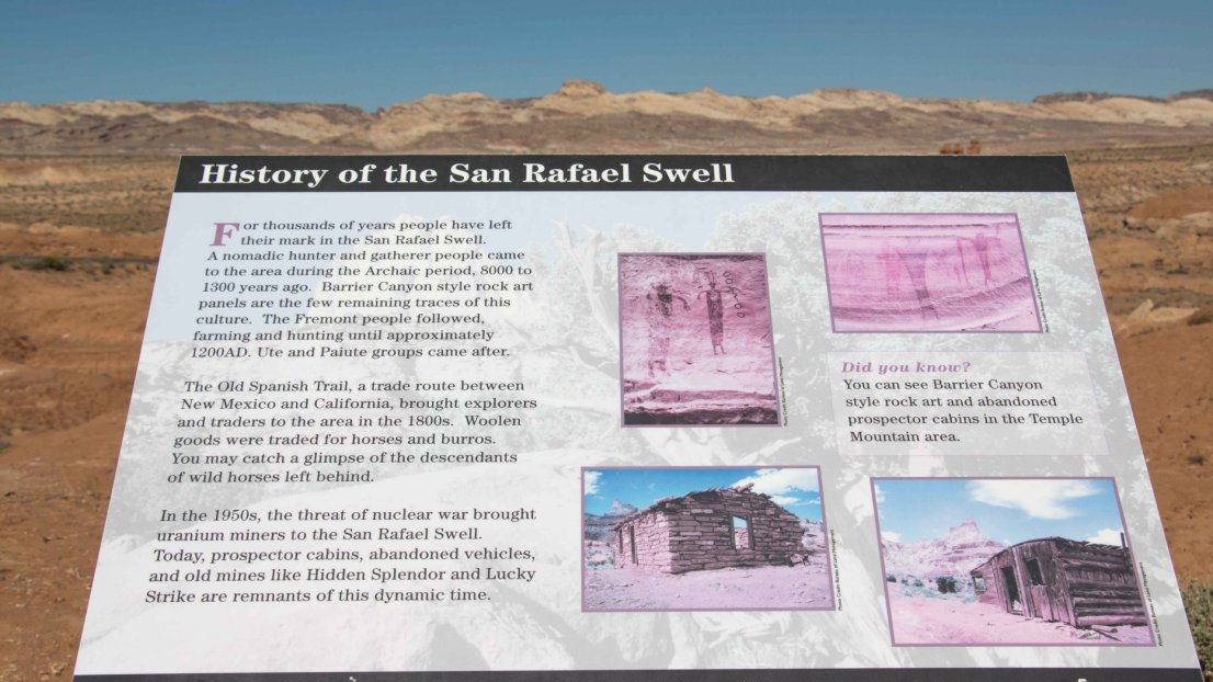 Learn about the history of the San Rafael Swell near Goblin Valley, Utah.