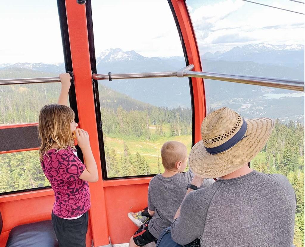 Top places to visit Peak 2 Peak Gondola Whistler Blackcomb. Photo: Melonie Lomond©