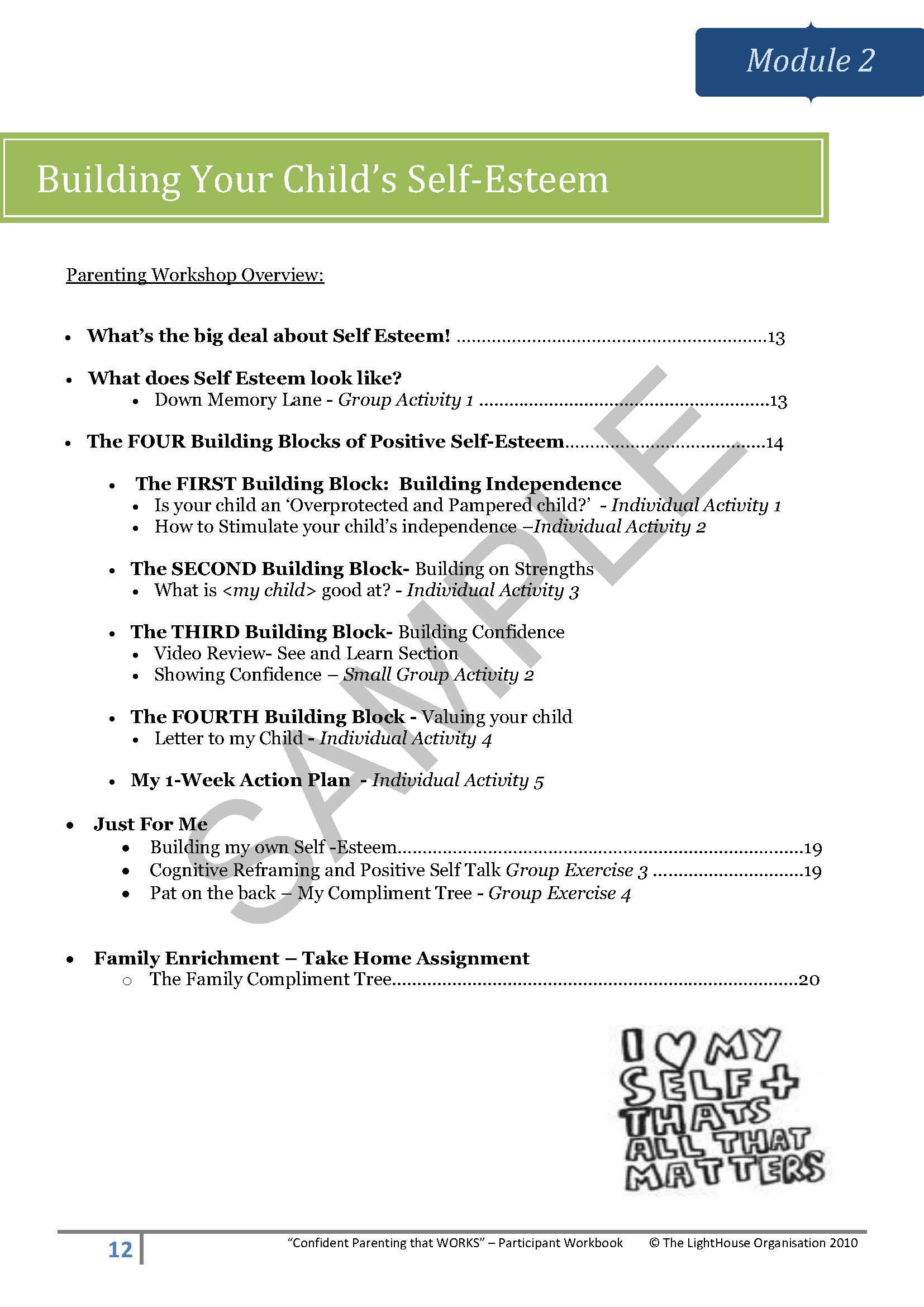 Listening Parenting Skills Worksheet