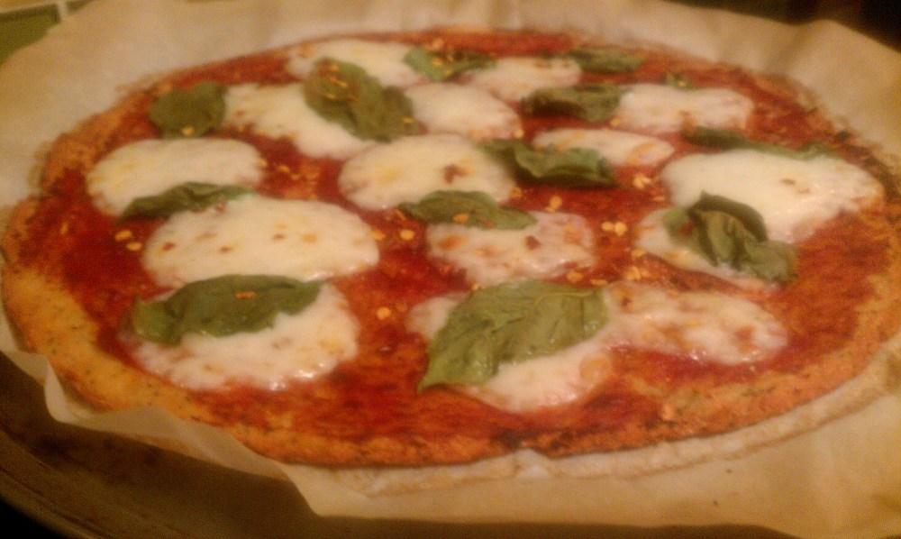 Gluten-free, high protein pizza crust (2/3)