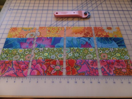 Fabric units for quilt