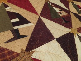 Custom quilting view