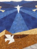 I love Noreen's sky quilting