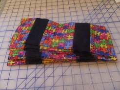 Assembly line piecing