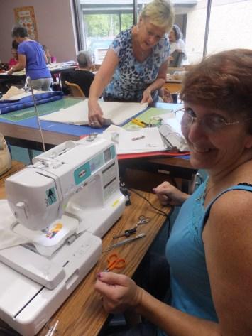 Janice working!