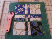 Start sewing together