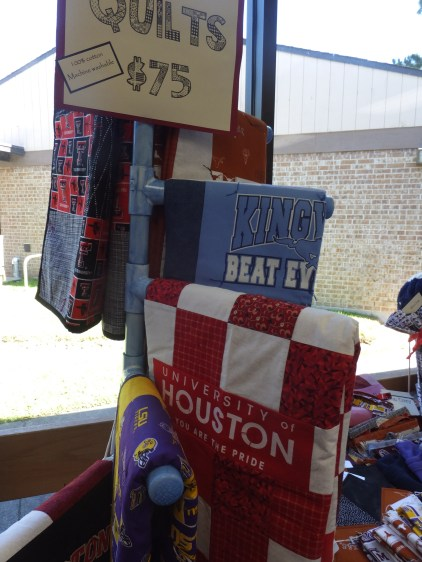 College quilts!