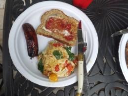 Sunday breakfast on the grill