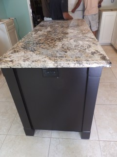 Granite and electrial switch