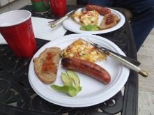 grillin' Sunday breakfast