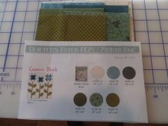 Cosmos Block fabric