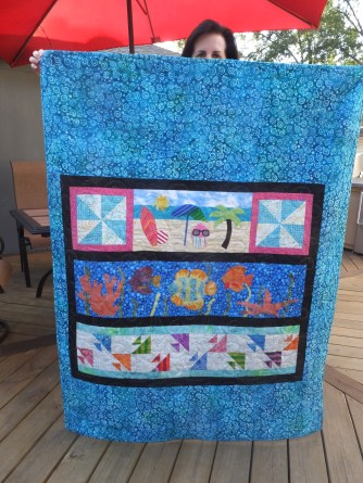 Back of quilt!