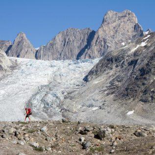 Les randonnées au pied des glaciers