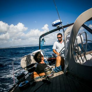 En navigation, Caraïbes