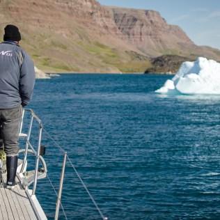 Arrivée à Qequertarsuaq