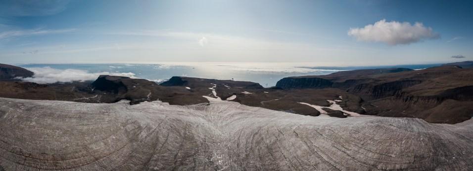 Randonnée sur glacier, Ile de Disko