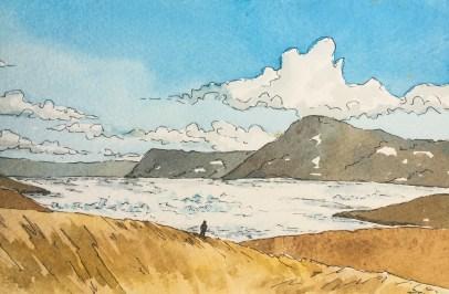 Groenland aquarelle 2019