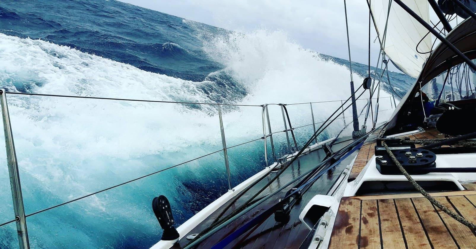 Les vagues énormes
