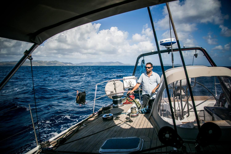 Premières navigations au Caraïbes sur LifeSong