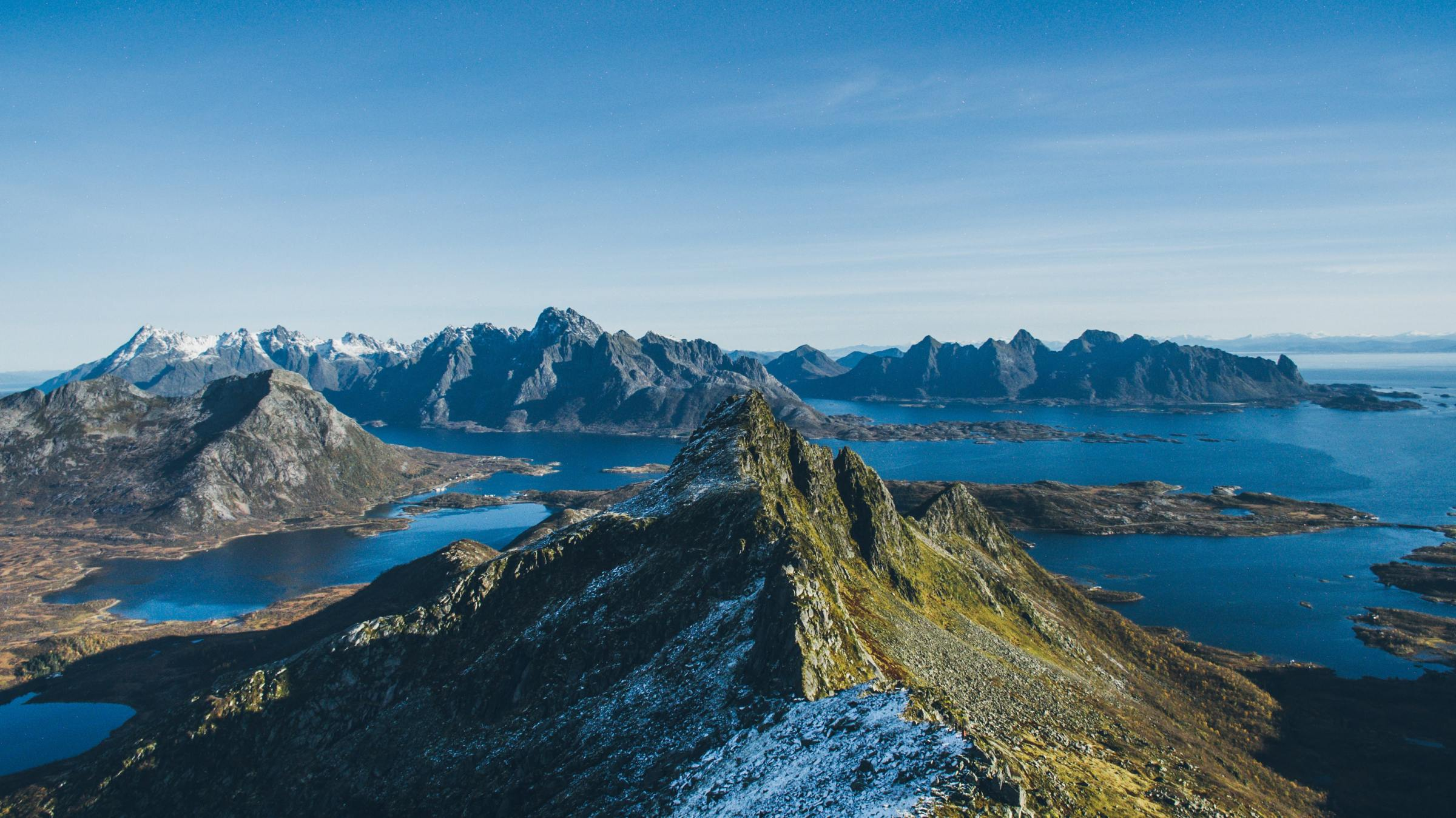 Sailing croisiere Lofoten Norvege