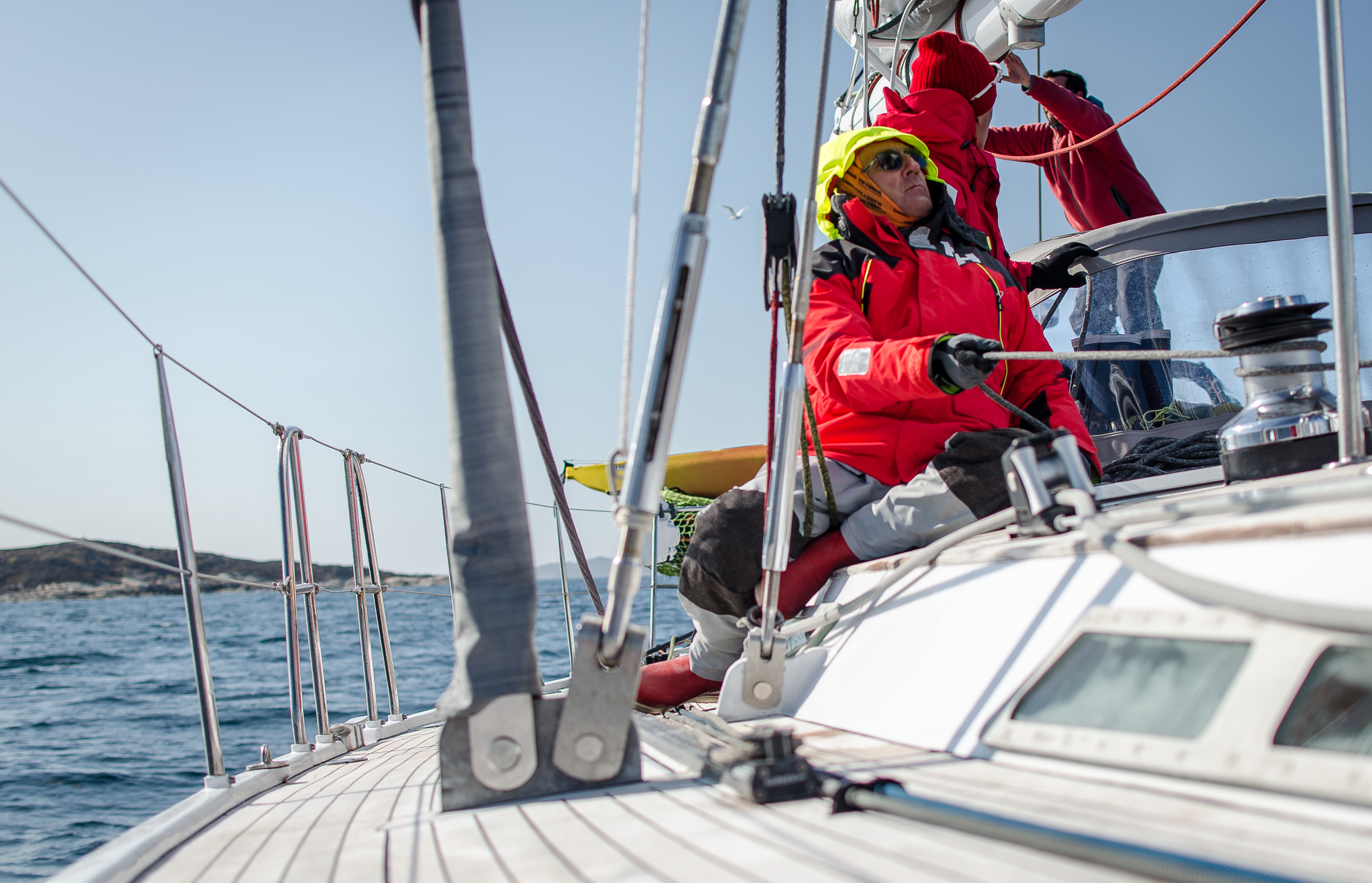 Navigation en équipage sur LifeSong Nouvelle-Écosse