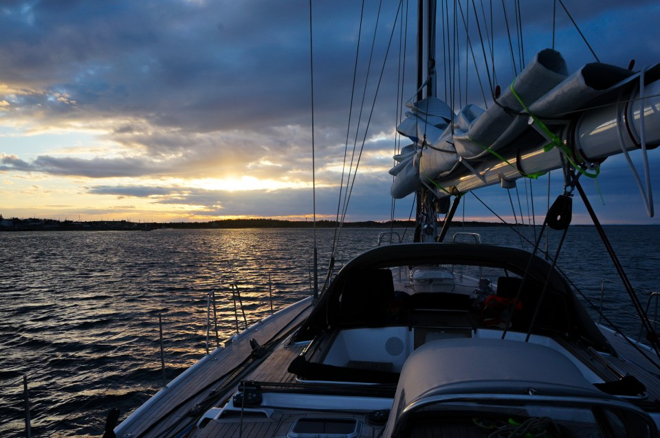 En navigation, nouvelle-écosse