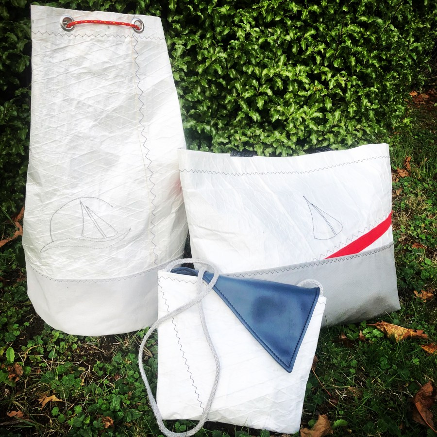 sac marin en toile de voile recyclé