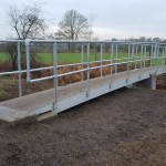 2 Span FRP Footbridge Installed on PROW
