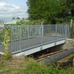 Composite footbridge