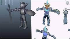 James - Creep 3D Model