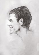 Portrait study - side view