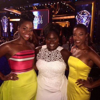 Teyonah Parris, Danielle Brooks, and Samira Wiley