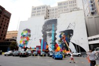 Bob Dylan Mural 2