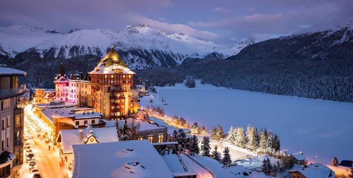 Resort Badrutt's Palace Hotel di St. Moritz
