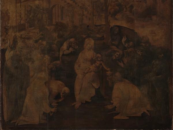 Adorazione dei Magi di Leonardo