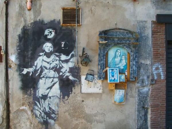 Banksy mostra Napoli