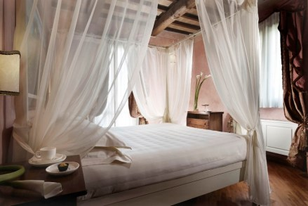 Rendering Camera baldacchino - Borgobrufa Spa Resort