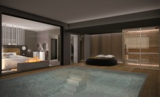 Rendering Suite Piscina - Borgobrufa Spa Resort