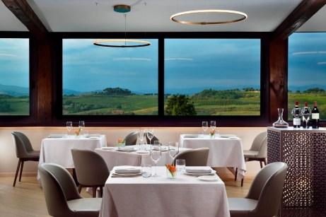 Ristorante Quattro Sensi Borbogrufa Spa Resort.