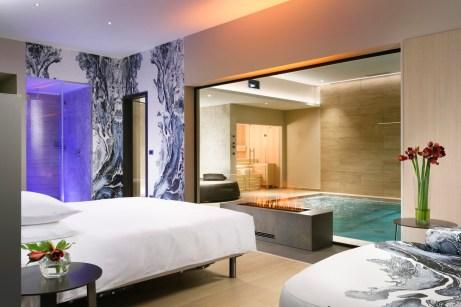 Suite con piscina sauna 2 - Borgobrufa Spa Resort